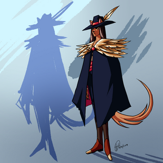 Demon Hunter with cloak