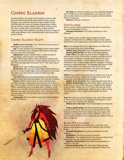 Cosmic Eladrin page 1