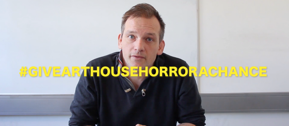 Gruvi Vlog 1- #givearthousehorror a chance