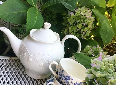Tea With a Hydrangea