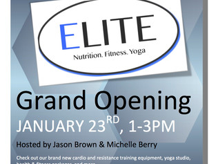 Welcome to ELITE Fitness & Nutrition