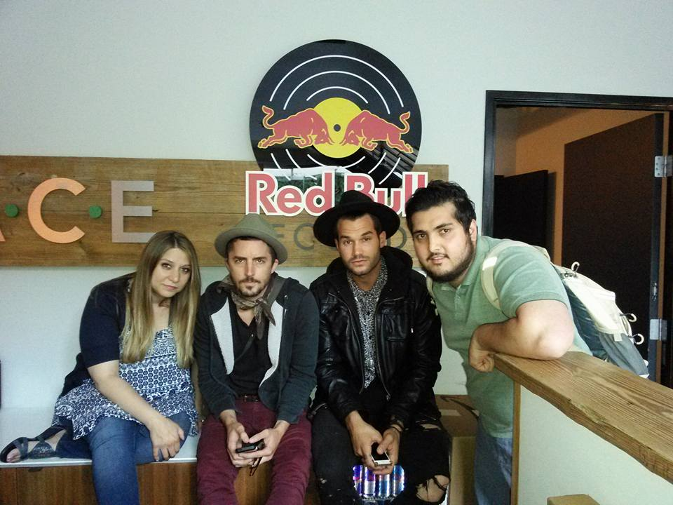 Redbull Records Writing Session