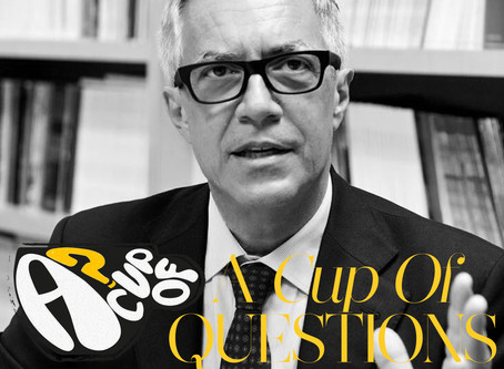 A Cup Of Questions with: Camillo Ricordi