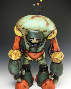 Moping Titan Model Robot