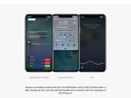 iOS 7 on iPhone X, Xr, Xs,11. - Concept - Techblood