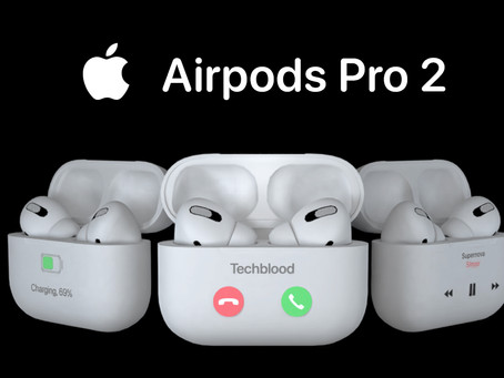 AirPods Pro 2 — Apple — AirPods with Retina HD Display!