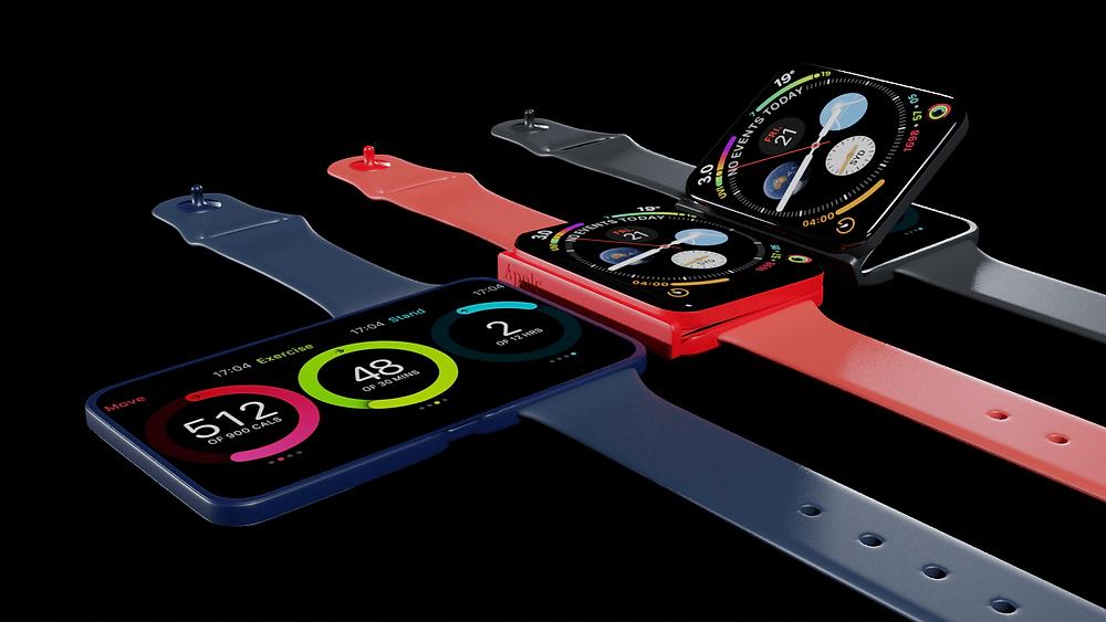 apple watch fold,foldable apple watch,apple foldable device,apple,apple watch,series 7,watch series 7,watch series x,apple iphone fold,foldable iphone