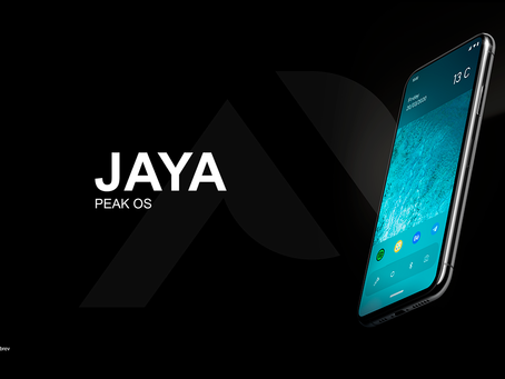 JayaOS - Peak OS Concept