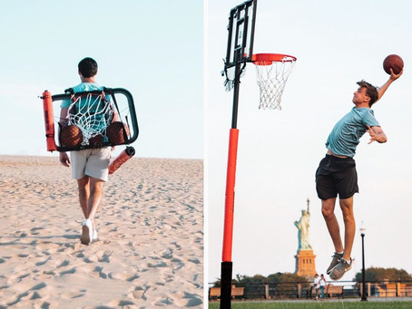 Portable 8.5 foot Basketball hoop, lets you play anywhere - Techblood