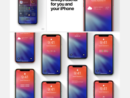iOS 14 - Apple 2020 [Concept]