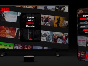 Netflix TV Device Concept | Netflix TV Set-top-Box