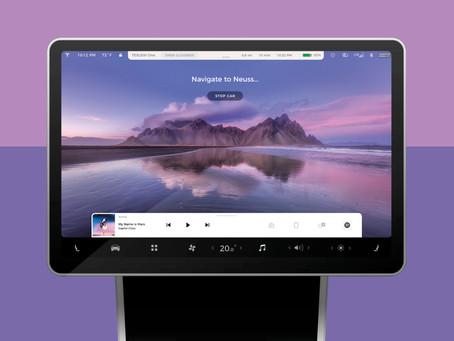 Tesla Future Full Self-Driving UI | Tesla Concepts 2021