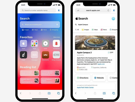Apple Search Engine — Apple 2021