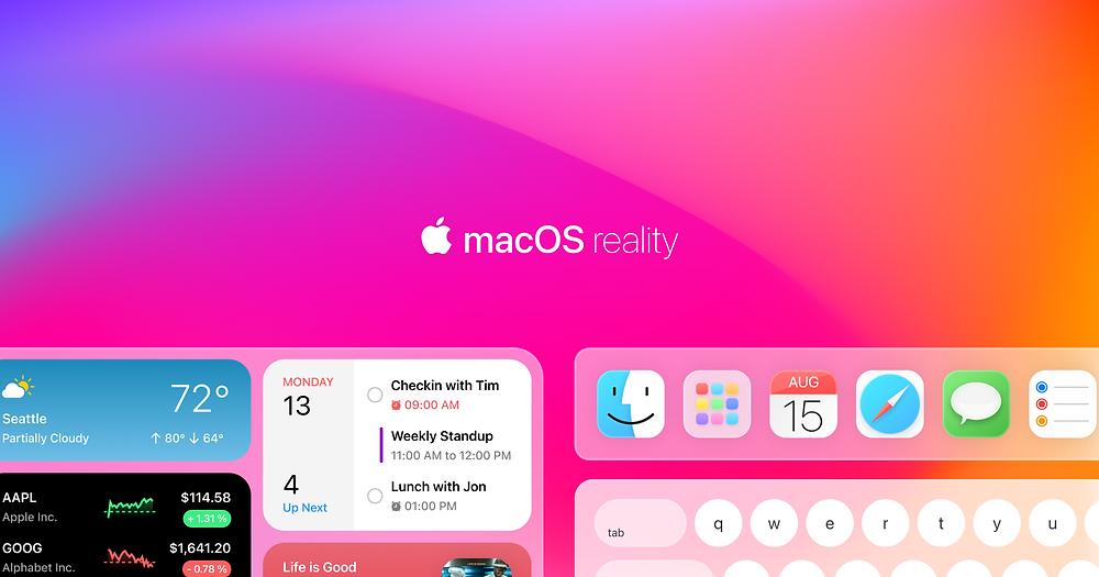 macOS,apple,macOS ar,touch macos,macOS touch,macos 2021,macOS reality,apple macos,macOS 12,technology,apple glasses,iglasses