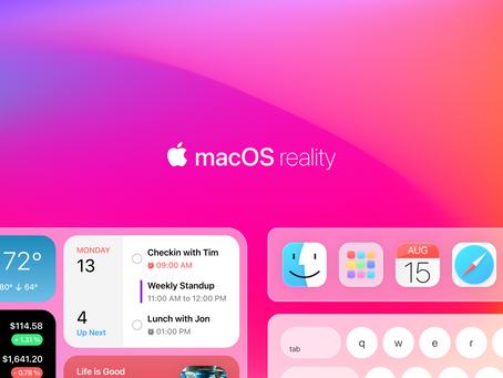 Apple macOS AR | macOS Reality 2021