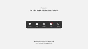 youtube ios app,youtube for ios,ios youtube design change,