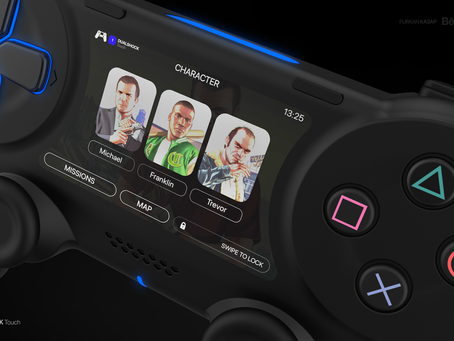 PlayStation 5 — DualShock Touch Controller — Sony 2020