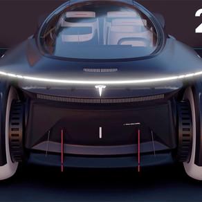 Tesla 2050 | Future Urban Mobility