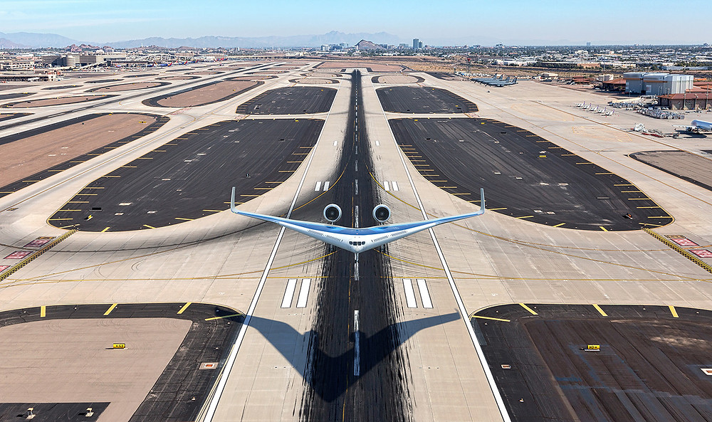 flying V, new aeroplane concept , 2020 aircraft 2020 airplane