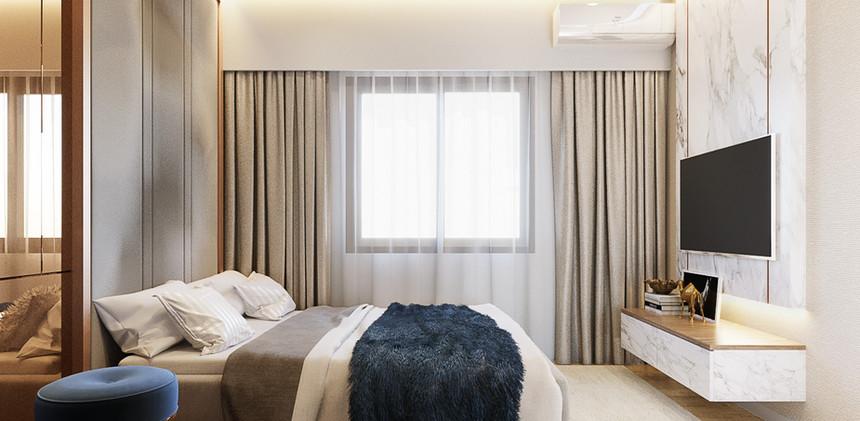 Proud TWO Master bedroom
