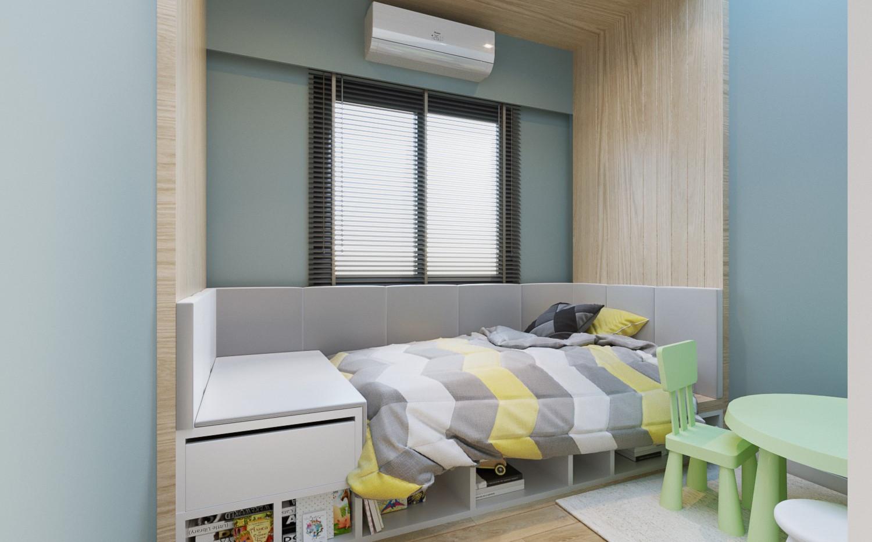 Proud TWO Kids bedroom