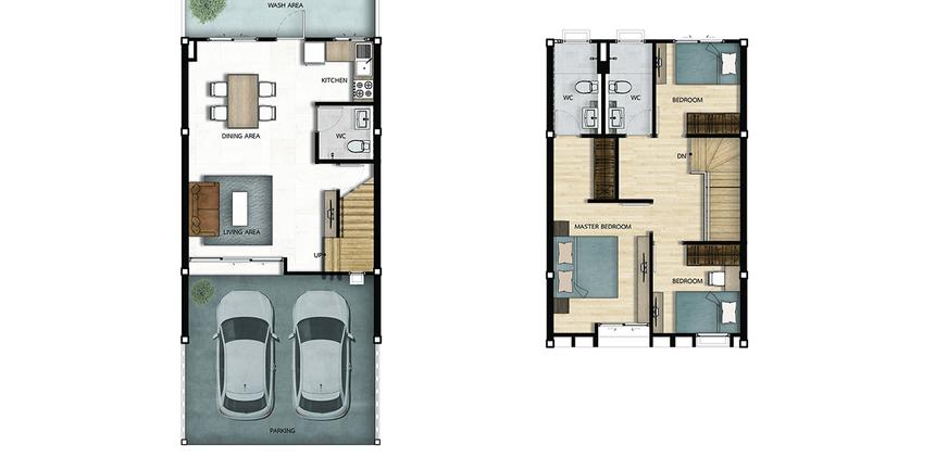 Pround ONE Floorplan
