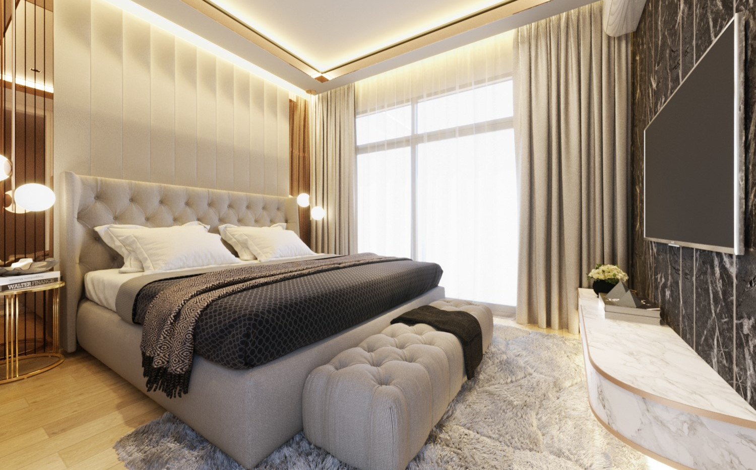 Proud TWO Master bedroom