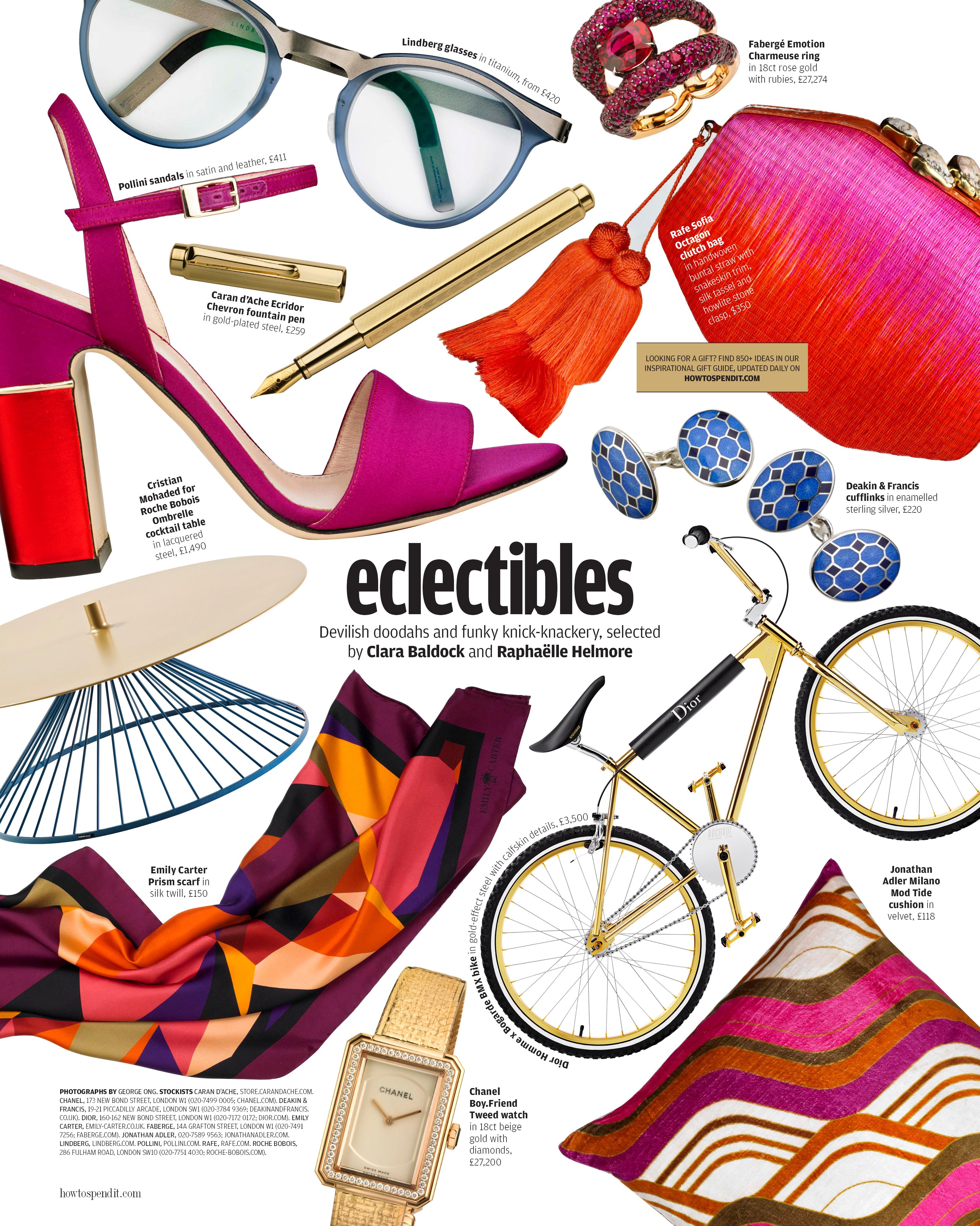 Emily Carter Press: Eclectibles