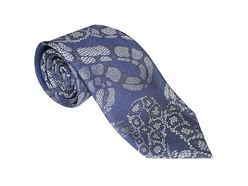 The Python Tie - Navy Blue