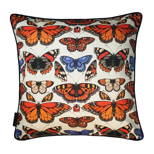 The British Butterfly Cushion 45x45cm