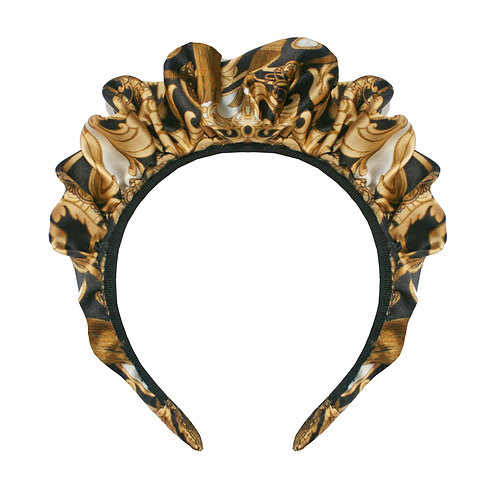 The Baroque Silk Crown Headband