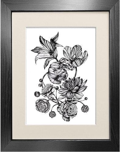 'Floral Bouquet' - Fine Art Print