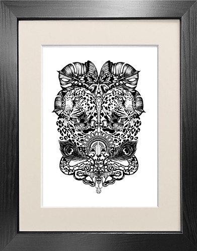 'Jewel & Jaguar' - Fine Art Print