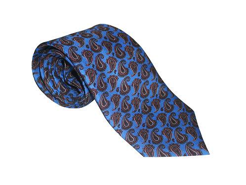 The Paisley Tie - Sky Blue