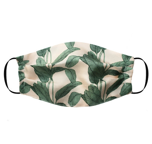 Silk Face Mask (Non-Medical) - Palm Print