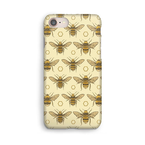 British Bees Luxury Phone Case - Gold