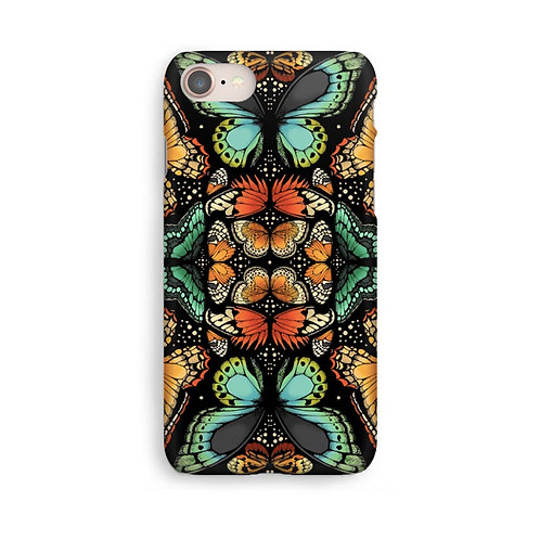 Tropical Butterfly Luxury Phone Case