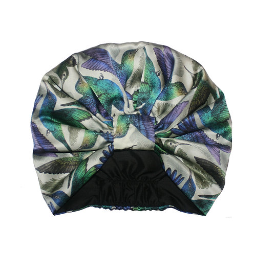 The Hummingbird Silk Turban