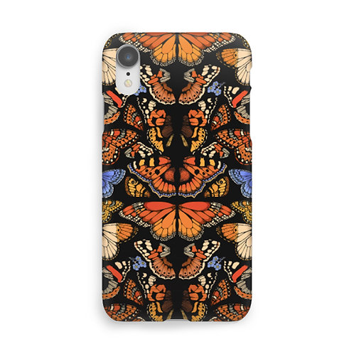 British Butterfly Luxury Phone Case - Black