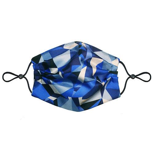 3 Layer Travel Silk Face Mask (Non-Medical) - Geometric