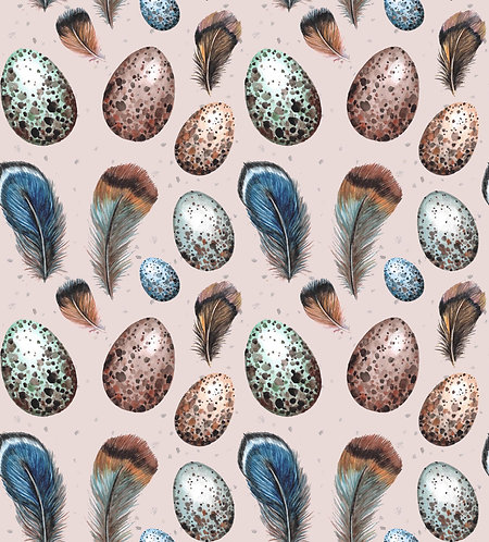 Feathers & Eggs Print
