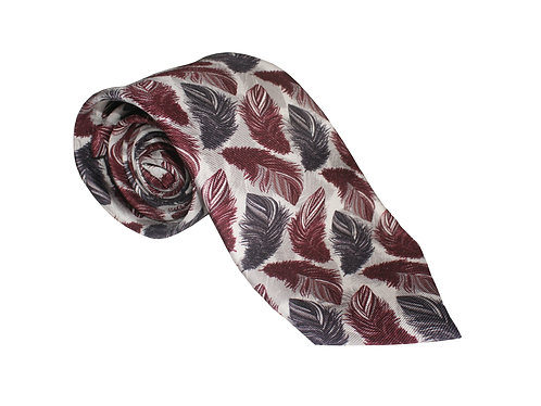 The Feather Tie - Maroon