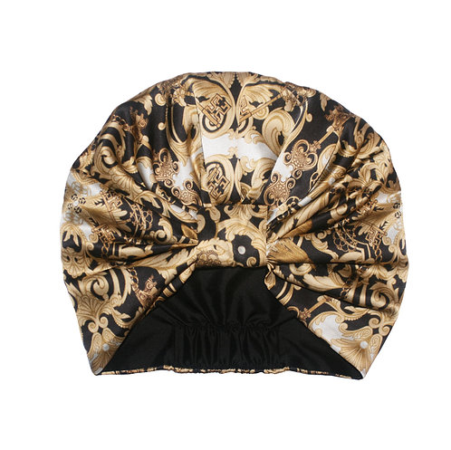 The Baroque Silk Turban