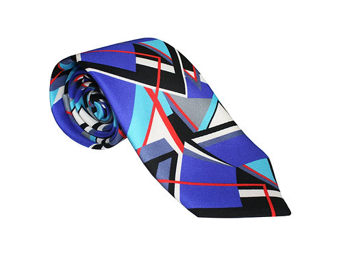 The Abstract Tie - Red