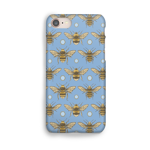 British Bees Blue Phone Case