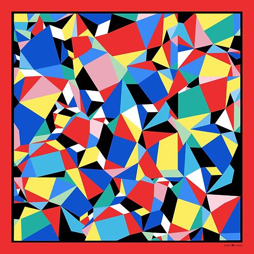 The Geometric Silk Scarf