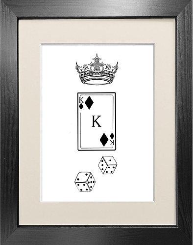'Kingof Diamonds' Fine Art Print