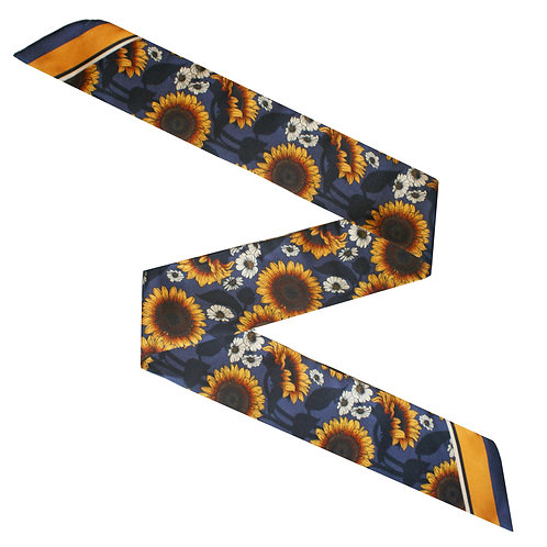 The Sunflower Twilly Scarf
