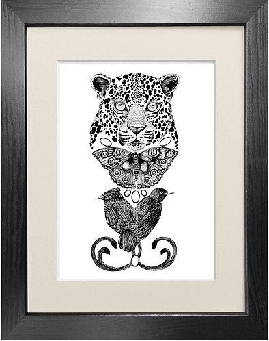 'The Tropical Leopard' - Fine Art Print