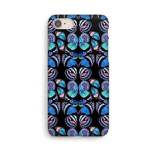 Abstract Butterfly Luxury Phone Case - Blue